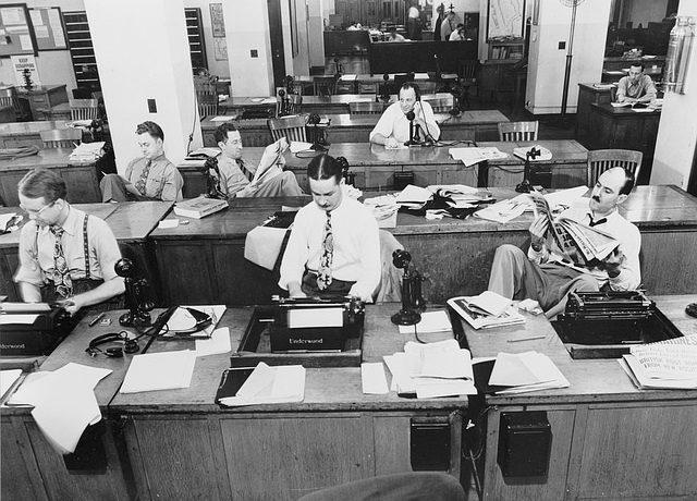 Riesgos Laborales periodistas